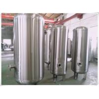 Best Elliptical Dish End Stainless Steel Air Receiver Tank , Pneumatic Pressure Vessel wholesale