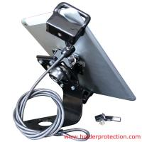 Best COMER Anti-grab tablet desktop display bracket with security cable lock wholesale