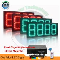 """Best 8"""" outdoor led digital petrol price station display for gas station wholesale"""