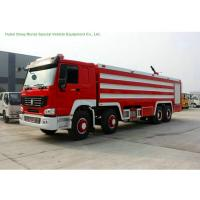 Best Multi Purpose HOWO 8x4 Fire Pumper Truck With Water Tank 24 Ton For Fire Fighting wholesale