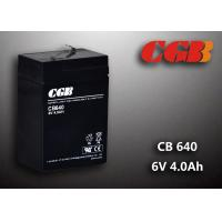 Best CB640 No Leaking Sealed Lead Acid Battery 6v 4ah , High Efficiency Ups Battery wholesale