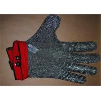 Best Anti-spear Knife Stainless Steel Gloves With Five Fingers For Slaughterhouse wholesale