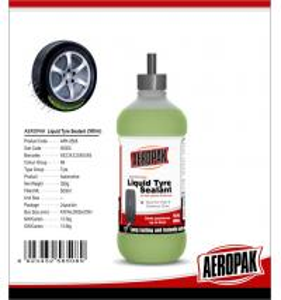 Best Non Flammable Emergency Tyre Repair Liquid , Anti Freezing Car Tire Sealant wholesale