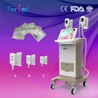 Buy cheap 3 Cryo handles fat freezing cryolipolysis machine for fat cell freezing treatment from wholesalers