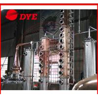 Best Micro Copper Distillation Equipment For Low / High Alcohol Concentration wholesale