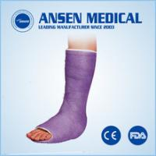 Cheap Free Samples Low PriceOrthopedicPlaster Fabric Bandage Medical Disposable Orthopedic Waterproof Polyurethane Leg Cast for sale