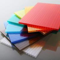 Best Customized Length Flat Polycarbonate Roofing Sheets For Construction / Decoration wholesale