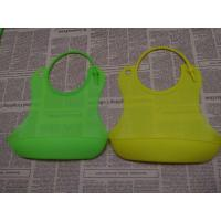 Best Customized LOGO Printed Buy Silicone Baby Bibs Of Green wholesale