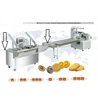 Buy cheap Biscuit Sandwiching and Packing Machine from wholesalers