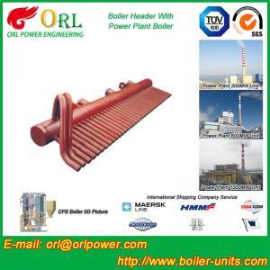 Best 100 Ton Boiler Header Manifolds Carbon Steel Boiler Unit for Natural Gas Industry wholesale