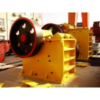 Buy cheap Mining Rock Jaw Crusher Machine PE Series 250 X 500 8 - 25 T / Henergy Saving from wholesalers