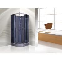 Best Dark Grey Quadrant Shower Cubicles With Alum In Chrome , 1 X 3 Functions Mixer wholesale
