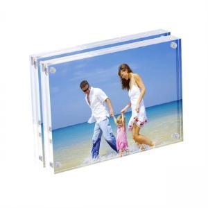 Best PMMA Custom Acrylic Fabrication Floating Acrylic Box Frame Acrylic Picture Frame wholesale