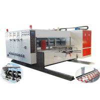 China Automatic Flexo Printing Slotting Machine, Automatic Lead-edge Feeding, High-speed on sale