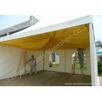 Best French Type Stainless Frame high peak pole tent , aluminum canopy tent with Linings wholesale