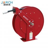 China Medium Pressure Oil Hose Reels , Dual Pedestal Fuel Spring Retractable Reels 1250 PSI 3/4 on sale