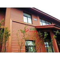 Best Waterproof Outdoor WPC Exterior Wall Cladding No Pollution Little Maintenance wholesale
