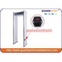 Harmless To Pergant Woman Children Metal Detector GateLED Light Indicate Alarm