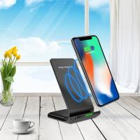 Best ABS+PC Phone holder 10W/7.5W/5W Fast Charging wireless Charger with double Coil wholesale