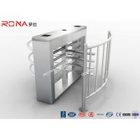 Best Durable Half Height Turnstiles 30 Person / Min Transit Speed Access Control System wholesale