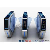 Best 2 Lanes Flap Barrier Turnstile With Ticket Manament System With Light In Cinema wholesale
