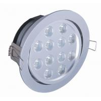 Best 12W High Brightness ROHS Semi Commercial Indoor Led Recessed Ceiling Lighting For Bathroom wholesale