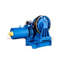 Best Large Load Geared Traction Machine For Passenger Elevator One Year Warranty wholesale