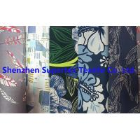 Best Poplin Reactive Print Garment Custom Cotton Fabric 40S 118GSM 147CM wholesale