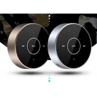 A6 Portable Wireless Wired Bluetooth Speaker Touch Screen Stereo Subwoofer AUX TF Card MP3 Player with Mic for Cellphone
