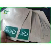 Best PE Coated Kraft Paper Roll Brown Paper 50g Base Paper + 10g PE For Packaging wholesale