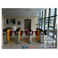 Best Fingerprint Retractable Flap Wing Barrier Pedestrian Control Flap Barrier Speed Gate wholesale