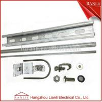 Cheap Galvanized Steel Strut Channel Fittings , Electrical Drawer C Strut Channel Accessories for sale