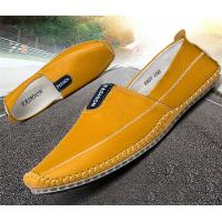 Buy cheap Rubber Back Counter Mens Soft Leather Loafers , Durable Mens Penny Loafer Shoes from wholesalers