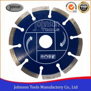 Best 125mm Universal Diamond Saw Blades Stone / Concrete Cutting Segmented Saw Blade wholesale
