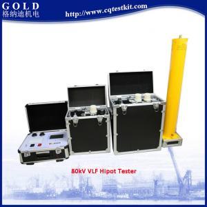 Best 0.01Hz 30kV to 90kV VLF AC Hipot Tester wholesale