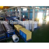 Best PU Sandwich Panel Production Line Electrical / Hydraulic Controlling wholesale