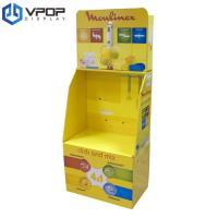 China Recycable Cardboard Dump Bins , Eco - Friendly Corrugated Floor Displays With Hook on sale