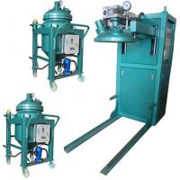 Best Thin film degassing vacuum mixing and injection device Epoxy Resin Automatic Pressure Gel Hydraulic APG Clamping Machine wholesale