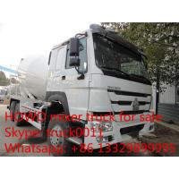 Best HOWO 6*4 12cbm concrete mixer truck for sales wholesale