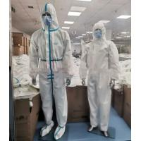 Best Latex Free Disposable Protective Suit , Disposable Full Body Suit Skin Friendly wholesale