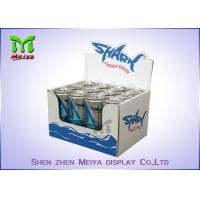 Best Waterproof corrugated material cardboard countertop display boxes for energy drink wholesale