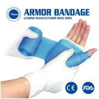 Buy cheap Manufacturer supply polyester fabric water activated Soft Casting Tape Orthopedic fracture bandage from wholesalers