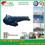 Silver oil fired boiler mud drum SGS certification manufacturer