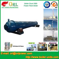 Cheap Silver oil fired boiler mud drum SGS certification manufacturer for sale