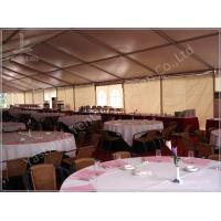 Quality Large Buffet Waterproof Party Tents For Hire 10X30 Temporary Aluminium Frame Marquee wholesale