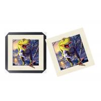 Cheap Durable Lenticular Printing Services / 5D Lenticular Picture With PS Frame For Wall Art Decro for sale
