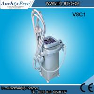Wrinkle Removal Laser RF Beauty Machine , Cavitation Vacuum Slimming Machine