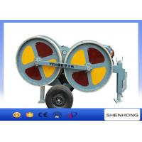 Best 3 Ton Hydraulic Tensioner 5 Km / H Max Pulling For Stringing During Overhead Line Transmission wholesale