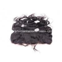 Best Full Cuticle Virgin Lace Frontal Closure 100% Peruvian Hair Remy Hair wholesale