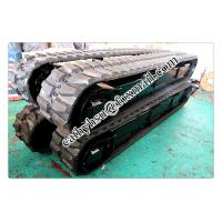 Best 8 ton rubber track undercarriage rubber crawler undercarriage wholesale